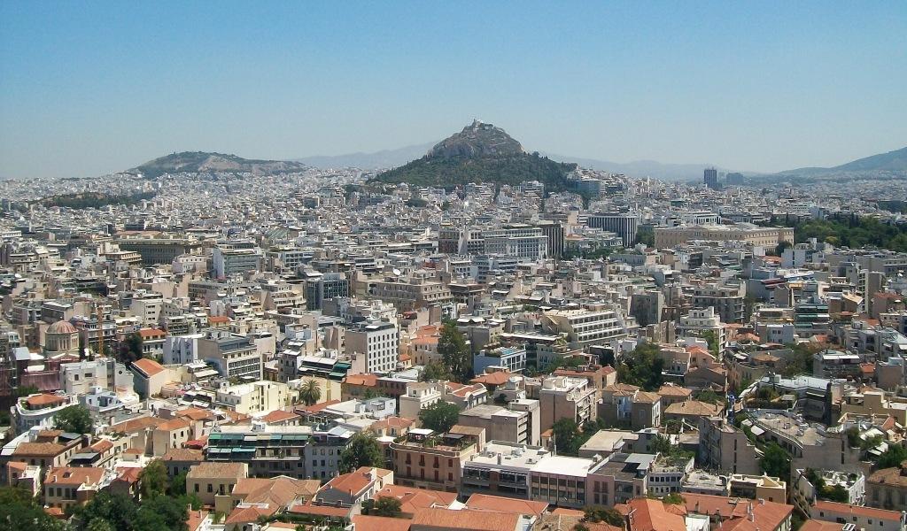 Athenas desde la Acropolis